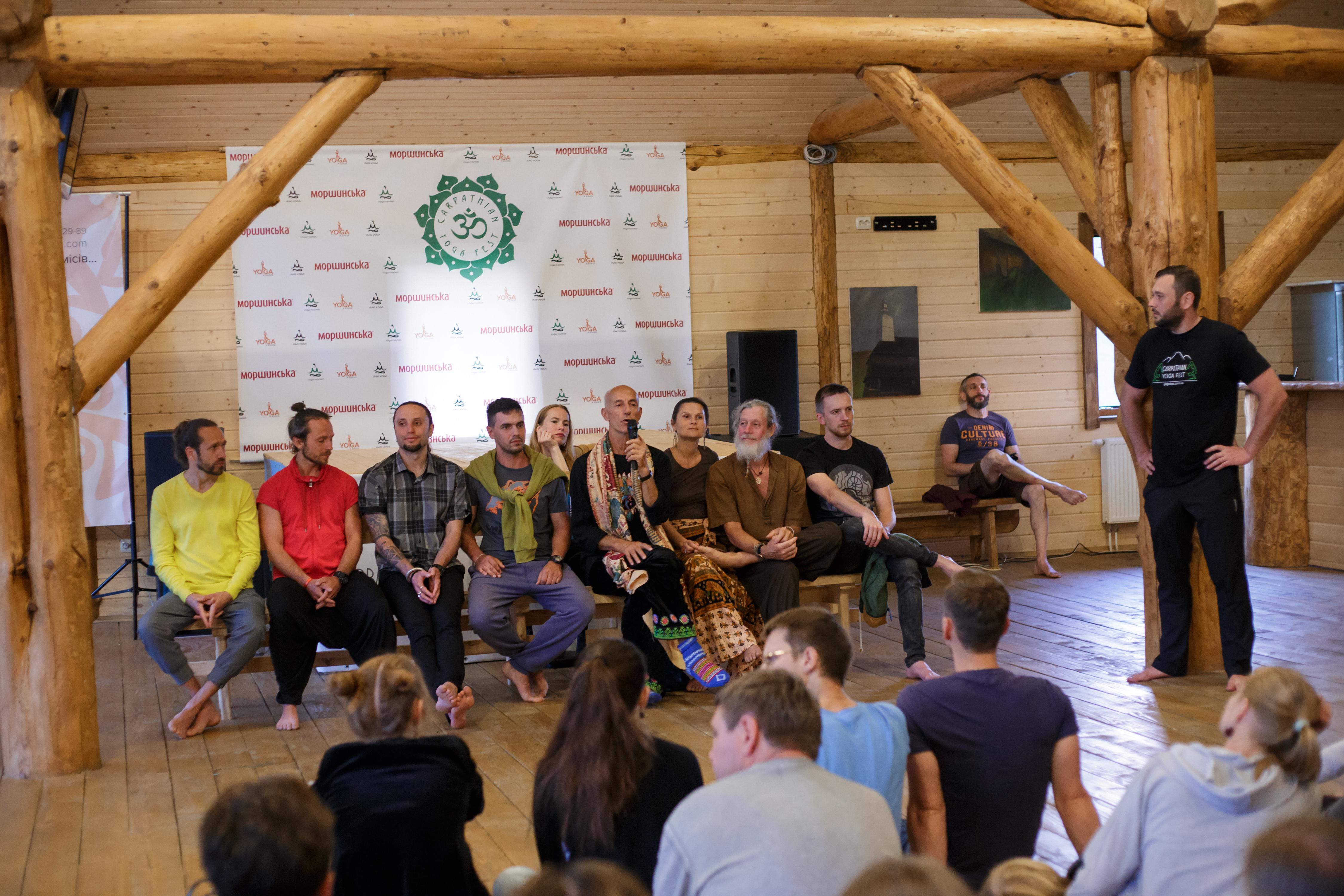 yoga teachers talk